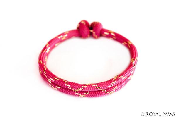 GLITZER pink / gold