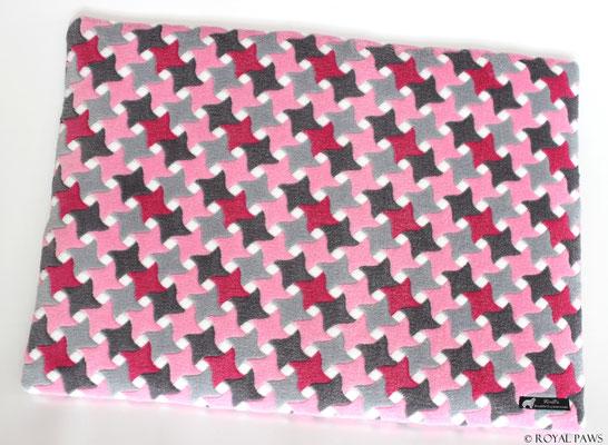 pink-grau Raute