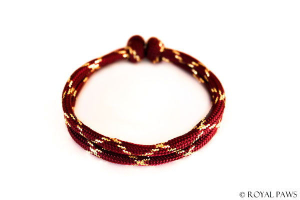 GLITTER bordeaux-red / gold