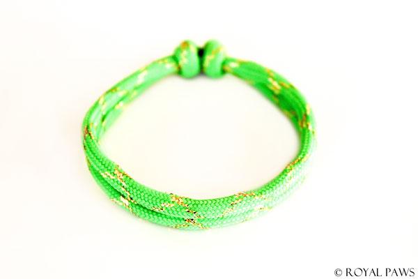 GLITTER neon green / gold