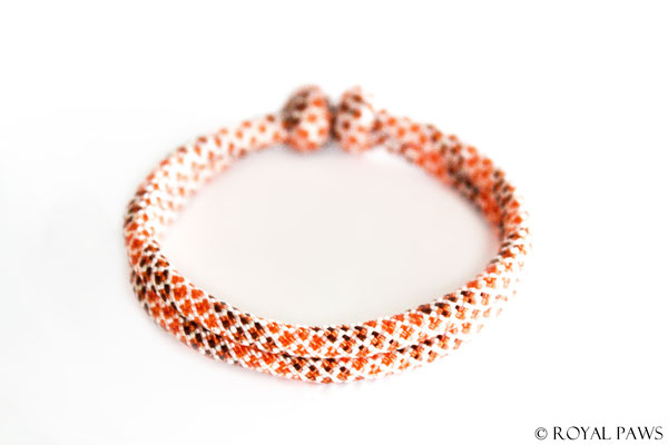 DIAMOND white / orange-dark orange