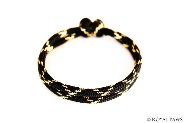 GLITZER schwarz / gold