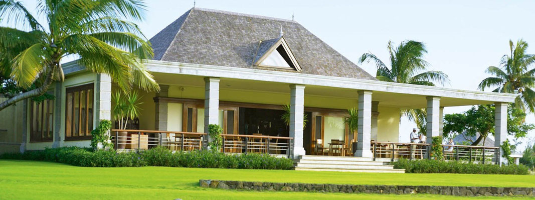 Club House golf Ile Maurice héritage Villas valriche