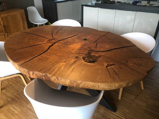 Oak table - from Kevin Rasche www.holzdoktor.de