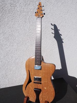 E-Guitar Oak and Wenge - www.bernd-oetzmann.de