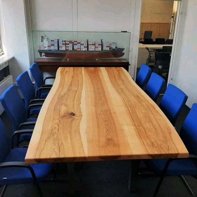 Eduard Dinges - Olive Ash Conference table - www.dingeshandwerk.de