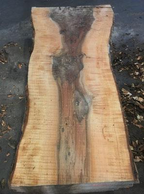 Ash fiddleback table tops