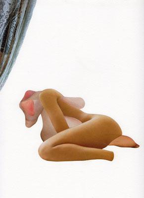 zonder titel, 24 x 31 cm, 2017