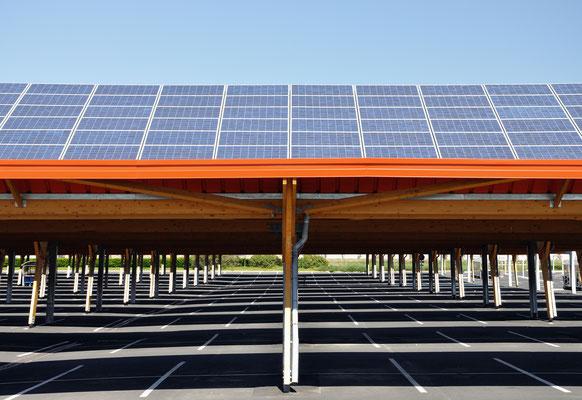 ombrière photovoltaique