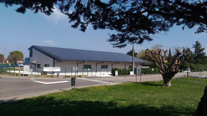 hangar panneau solaire