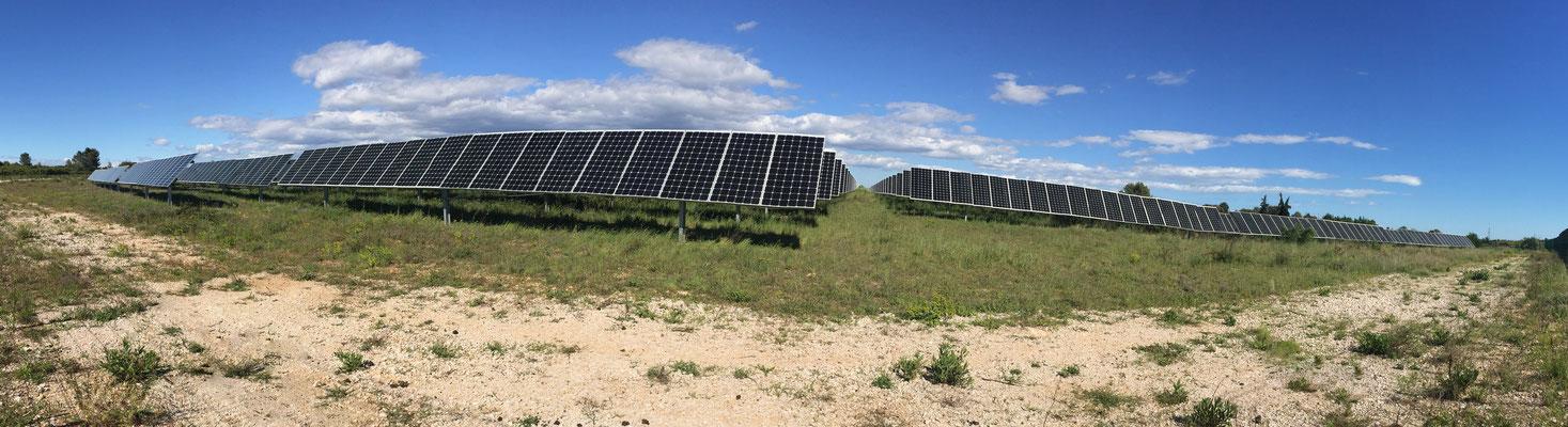 location terrain photovoltaique