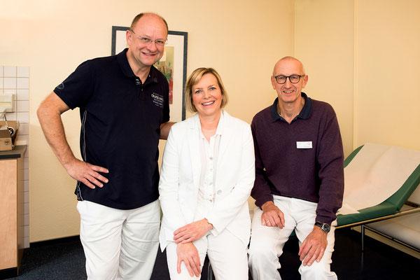 Ärztetem der onkologischen Schwerpunktpraxis Wolfsburg