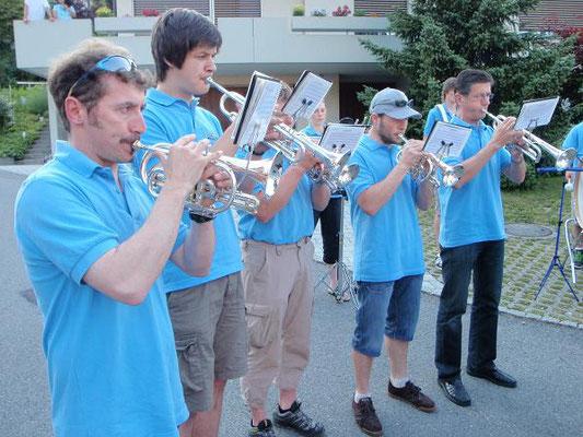 die Trompetenspieler