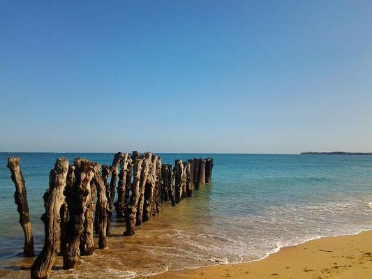 Ebbe und Flut Bretagne