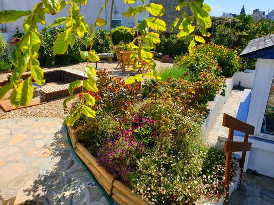 Traumgarten Bretagne Ferienhaus