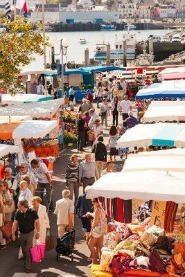 Markt in Audierne