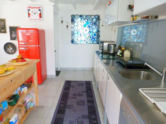 Ferienhaus Maison Dodo Bretagne moderne Küche