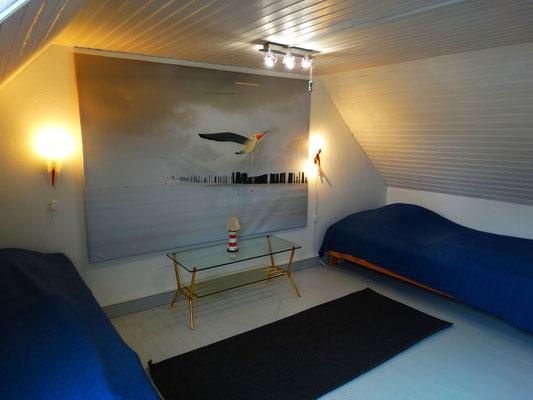 Ferienhaus Maison Dodo Schlafzimmer zwei