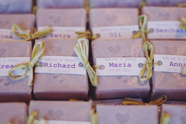 Individuelle Geschenkideen für Hochzeiten, Firmenfeiern oder Hotels