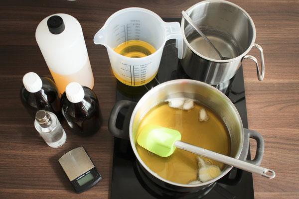 Natürliche Seifenherstellung in der BioBalsam Manufaktur