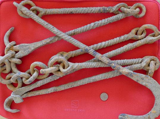 Kesselgehänge aus Eisen - Römische Kaiserzeit