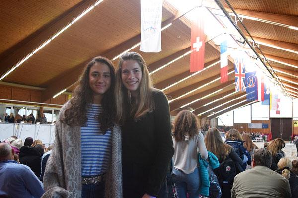 Carina Peiker und Francisca Hüttemann 8er Team Finale in Alsfeld 2016