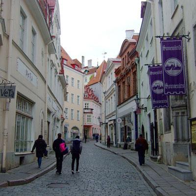 Tallinn Touristen-Gassen