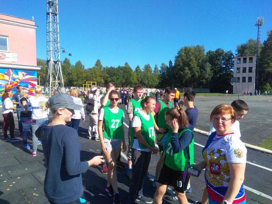Перед парадом открытия