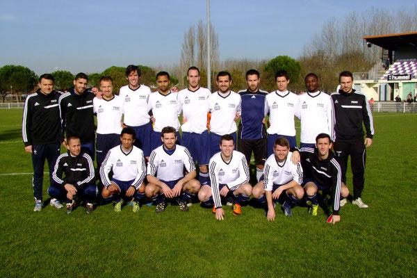 2015-16 : 16e de finale Championnat de France - Municipaux de Toulouse