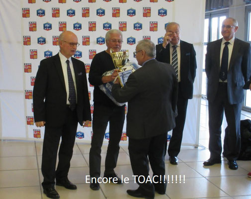 19 Nov 2016 - Remise des trophées de la saison 2015-2016