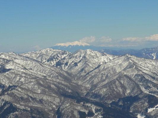 野伏ケ岳山頂から御嶽
