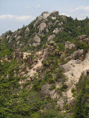 ここは岩の山?