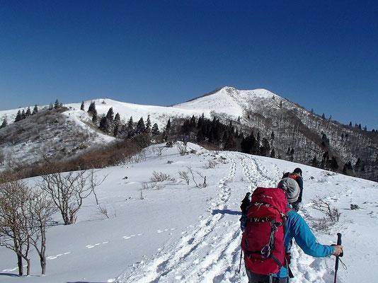 西南稜の始まりです