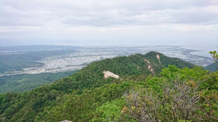 オーム岩からの眺め