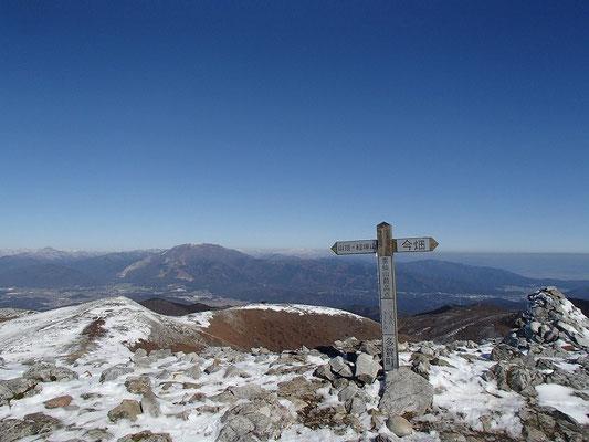 ここが霊仙山最高地点(1098m)