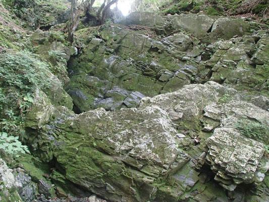 露岩の岩場