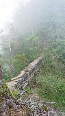二段重ねの橋