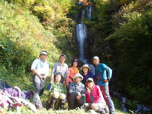 06これが五銚子の滝です