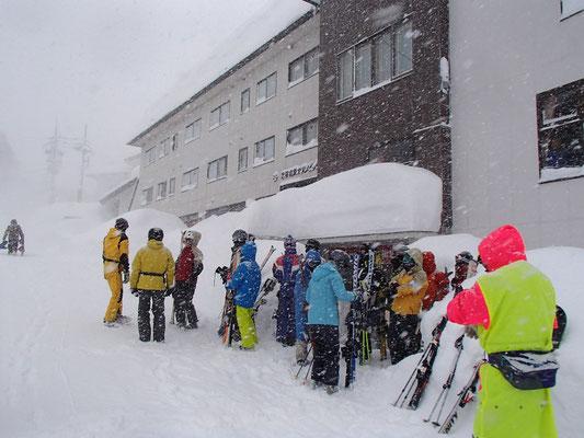 三日目も雪は降り続いていました