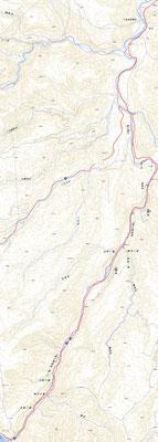 奥入瀬渓流散策ルートGPS軌跡