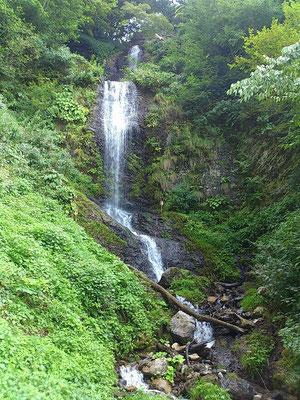 五銚子の滝もなかなか立派