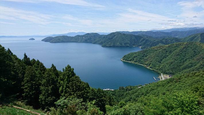 賤ケ岳山頂から琵琶湖