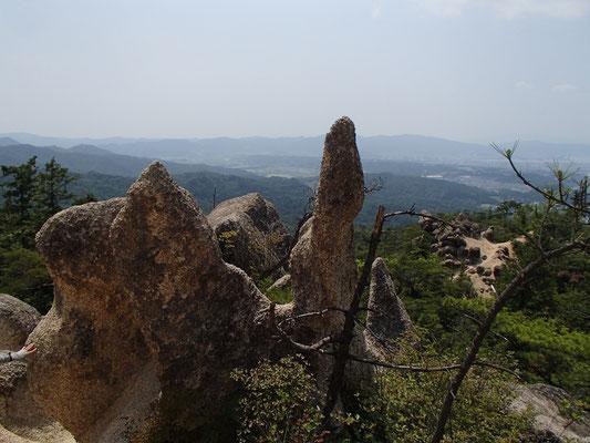 景色の中のオブジェ