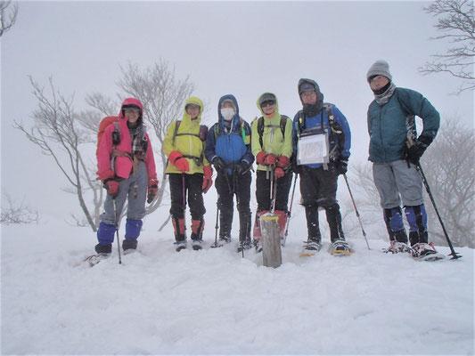 +P865 武奈ケ嶽山頂