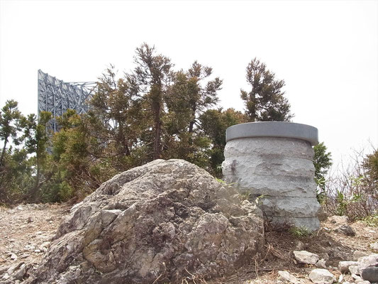 鷲走ケ岳山頂 (1,096.6m)