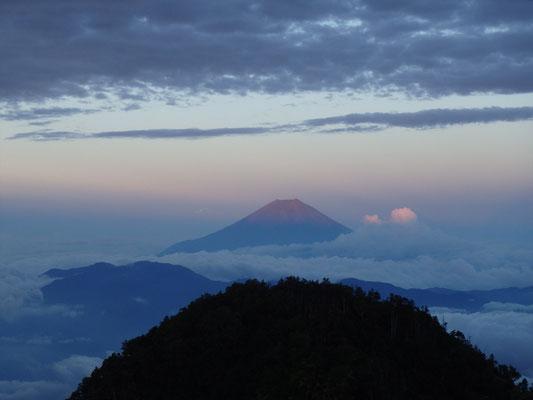 ちょこっと赤富士