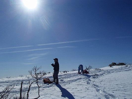本当にいい天気でした