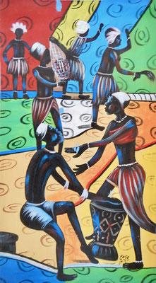Culture Dancer, 90 x 50, 150€