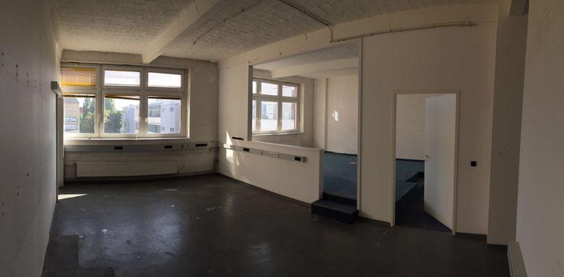 Der Raum vor dem Umbau.