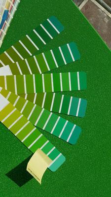 Weil Grün nicht gleich Grün ist.